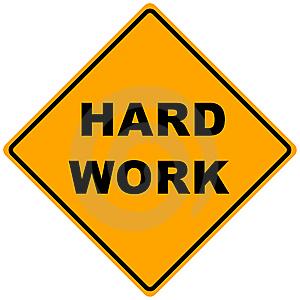 El trabajo duro no sirve de nada
