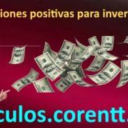 Afirmaciones positivas para invertir dinero