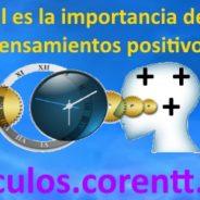 ¿Cuál es la importancia de los pensamientos positivos?