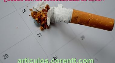 ¿Cuáles son las consecuencias de fumar?