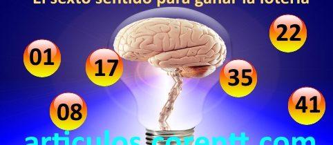 El sexto sentido para ganar la lotería