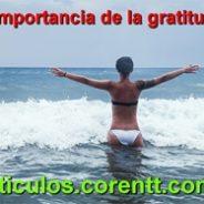 La importancia de la gratitud